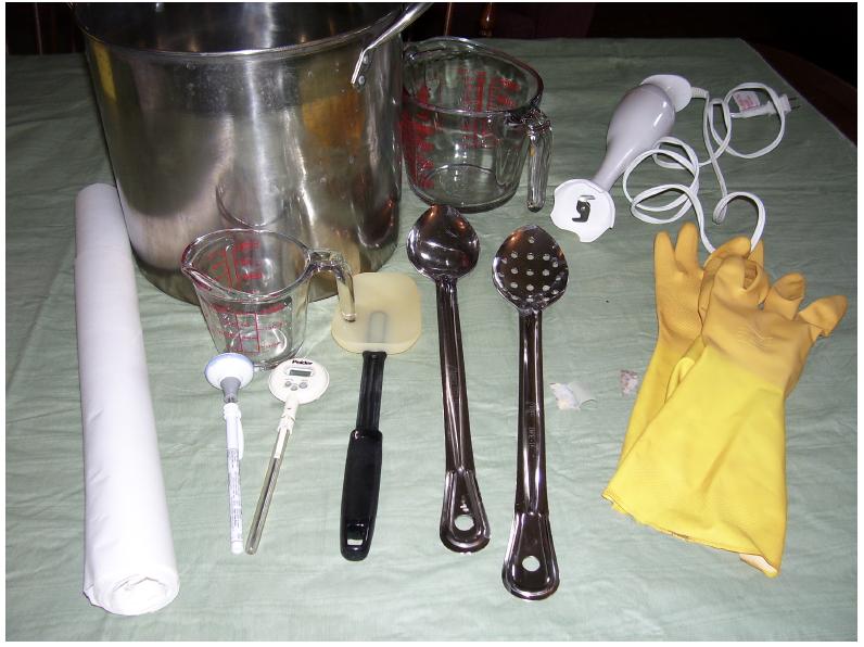 Making A Basic Soap – Beginner's Recipe!